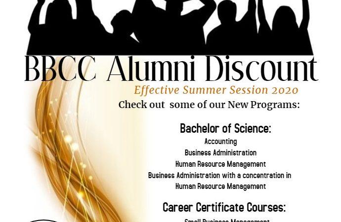 BBUC Alumni Discount