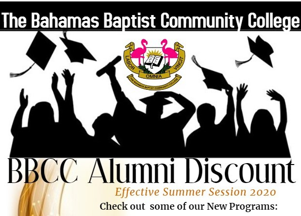 BBUC Alumni Discount Effective Summer Session 2020